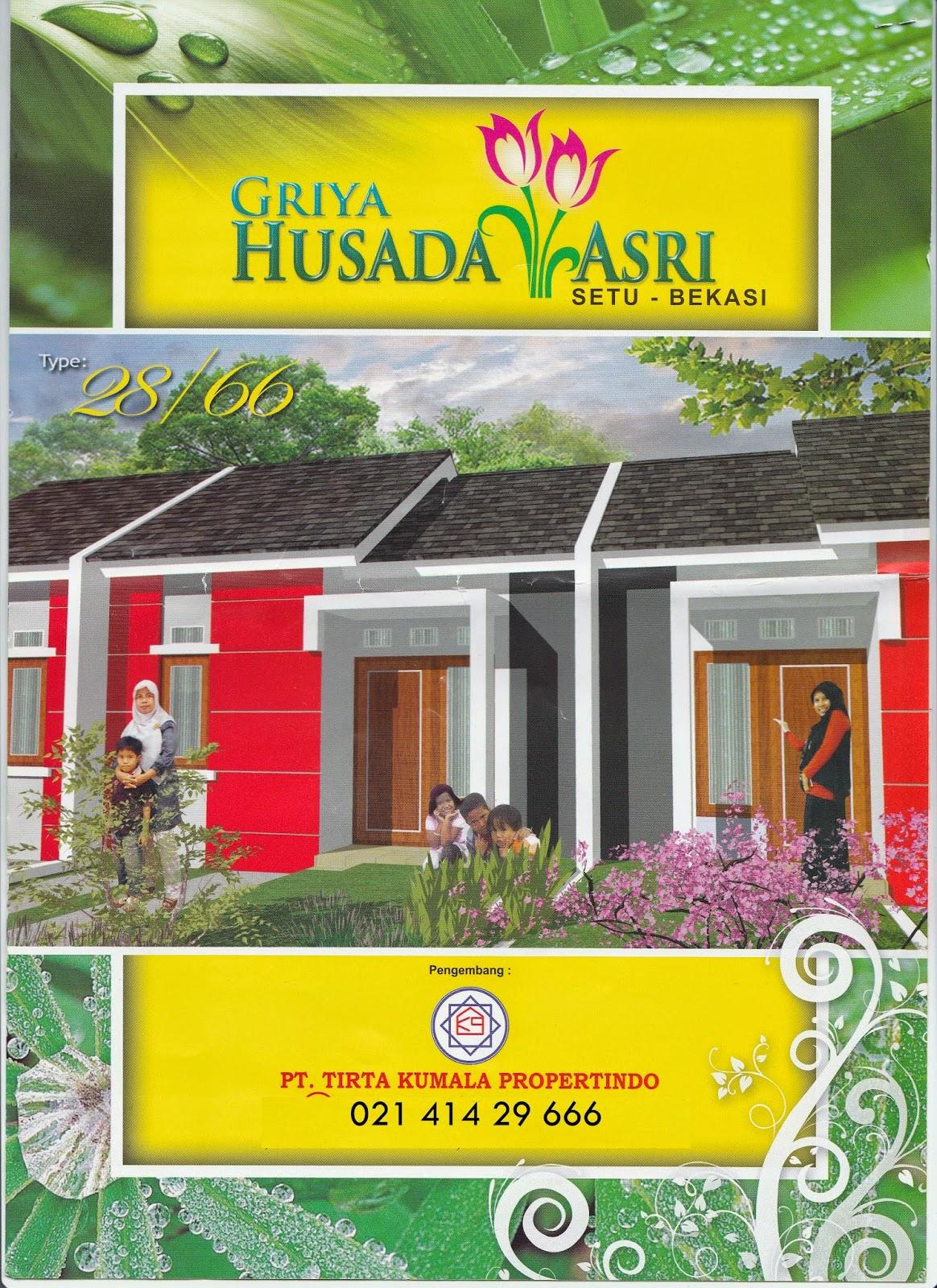 Brosur Terbaru Rumah Tanpa uang Muka Bekasi