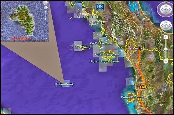 Pesawat MH370 Dikesan Berada Di Pulau Perak