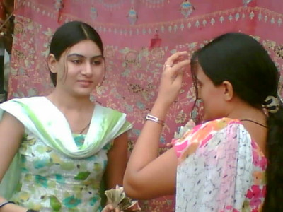 Two Desi Beautiful Lahori Girls From Punjab University