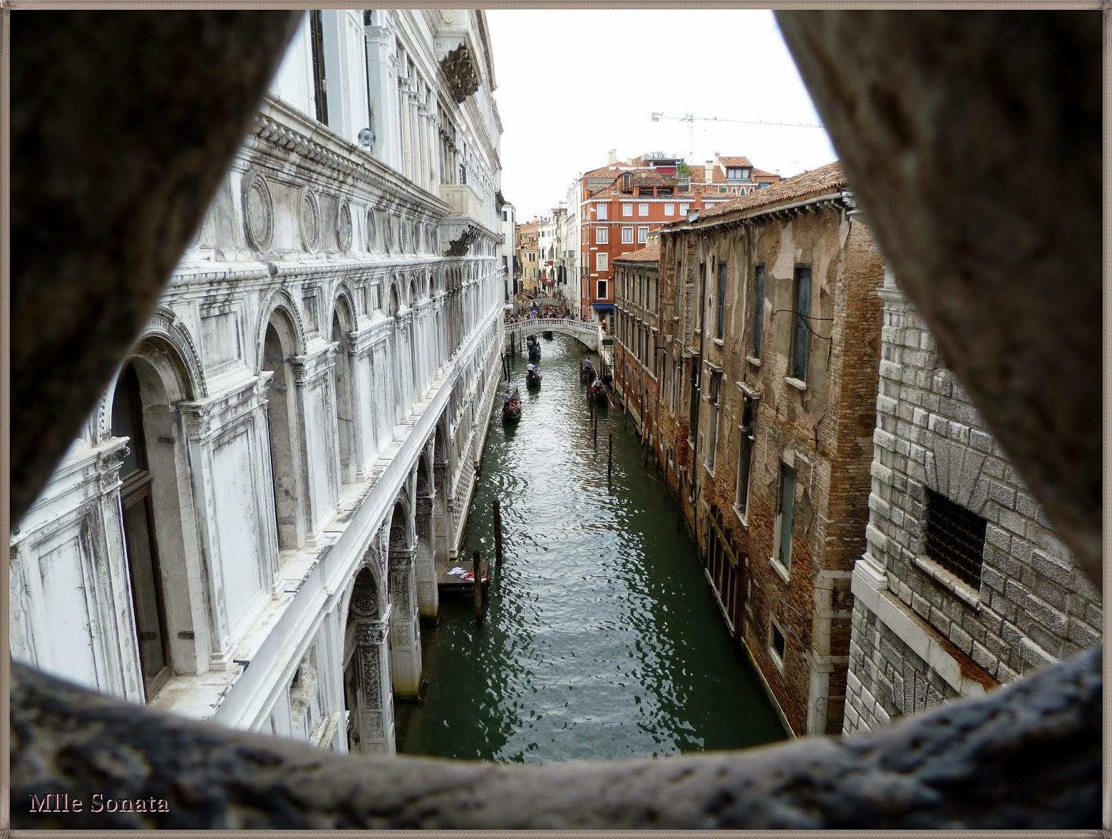 Voyage Italie Venise Palais des Doges Soupirs