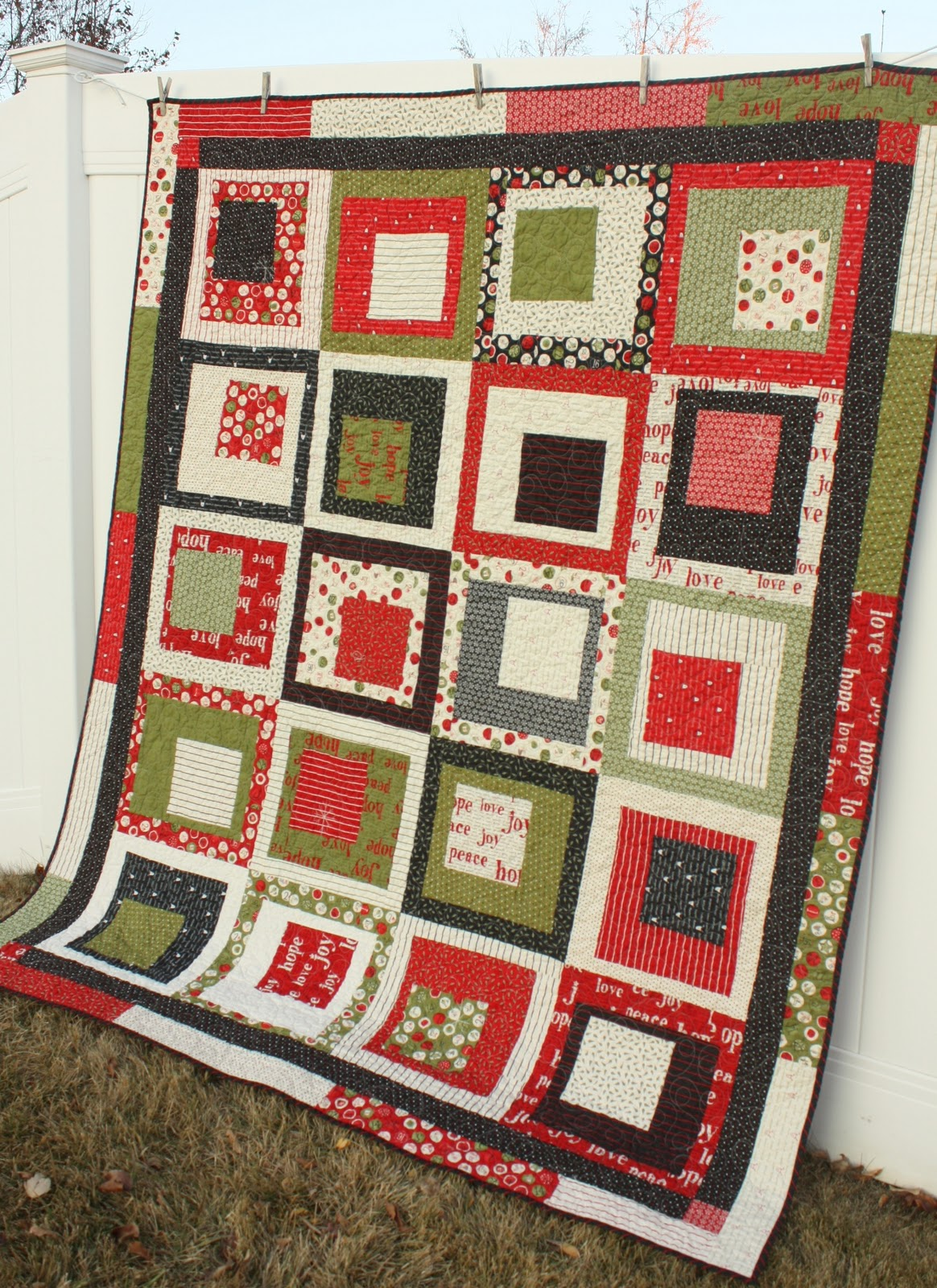 Countdown to Christmas Quilt - Diary of a Quilter - a quilt blog : quilt for christmas - Adamdwight.com