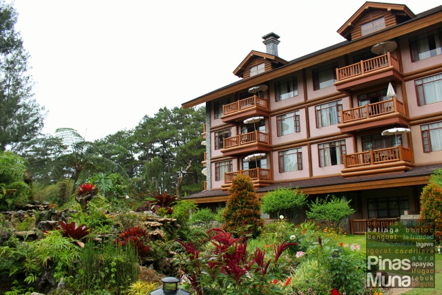 log cabin architecture of The Manor at Camp John Hay Baguio