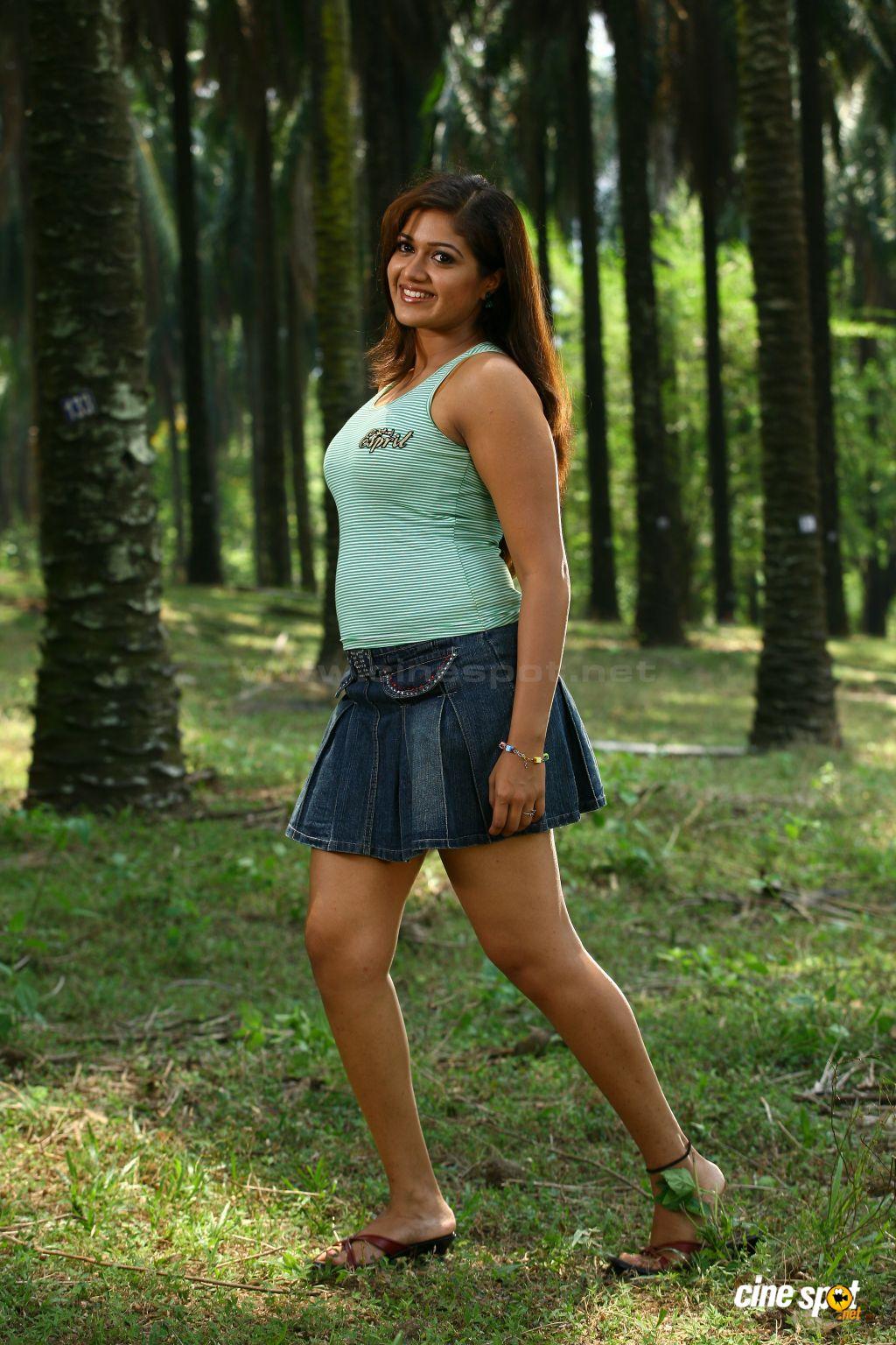 Actress Meghna Raj