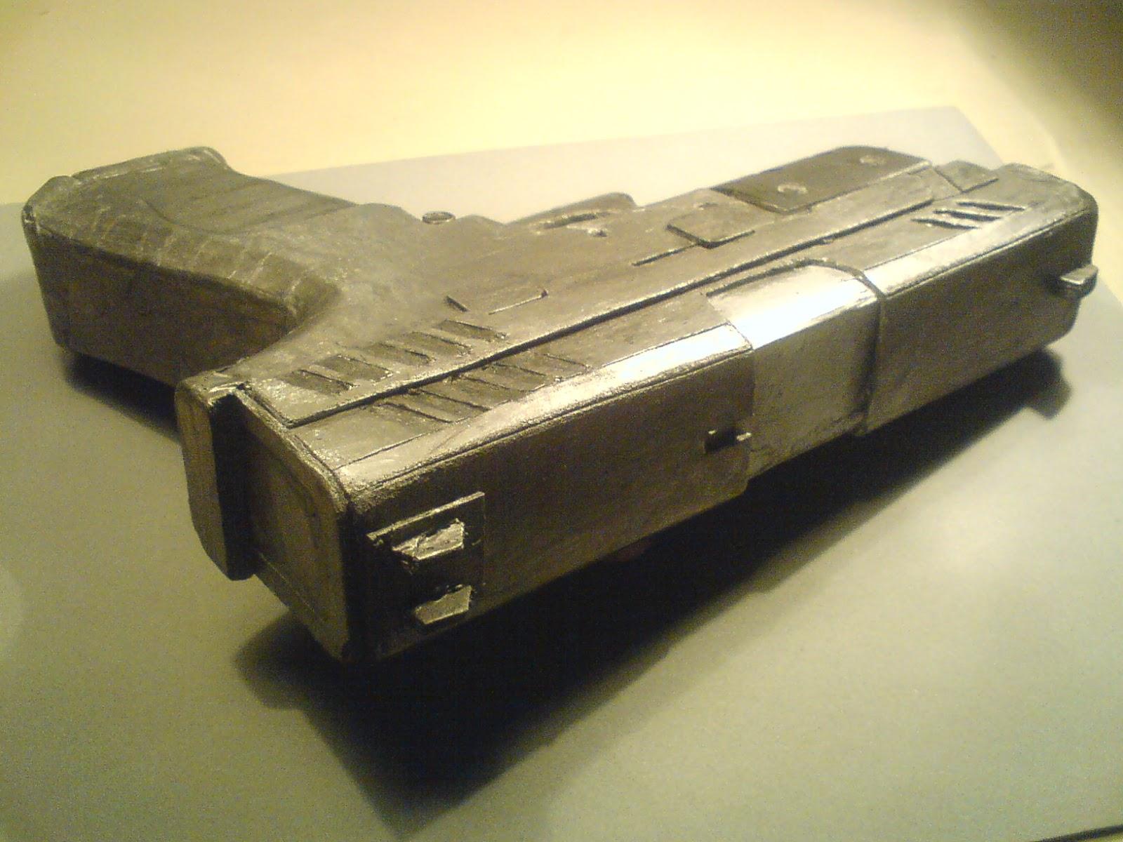 Pistola Blacktail - Resident Evil DSC04507