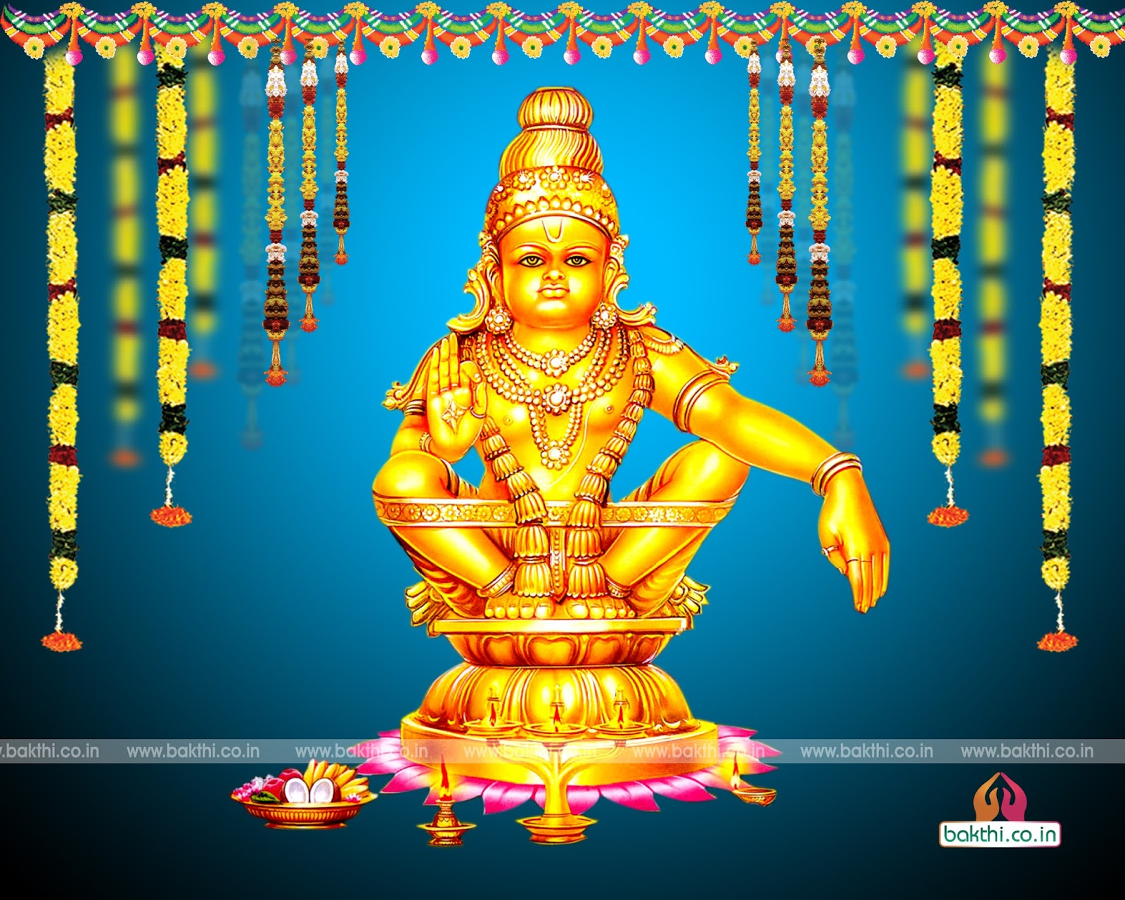 Hindu devotional wallpaper