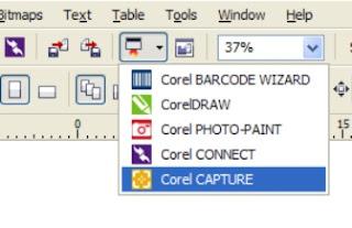 corel capture, font, mengetahui,mencari