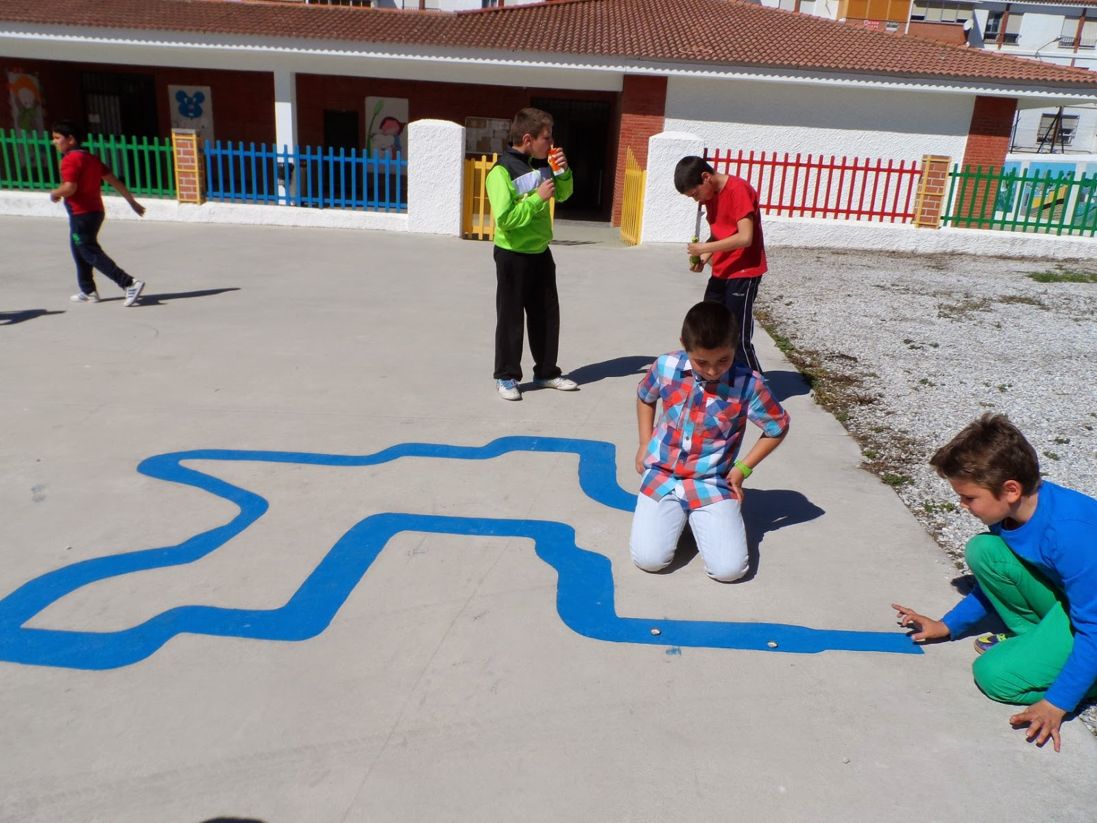 Circuito Juegos Para Niños : Hagamos las paces recreos