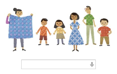 Hari Batik Nasional bersama Google