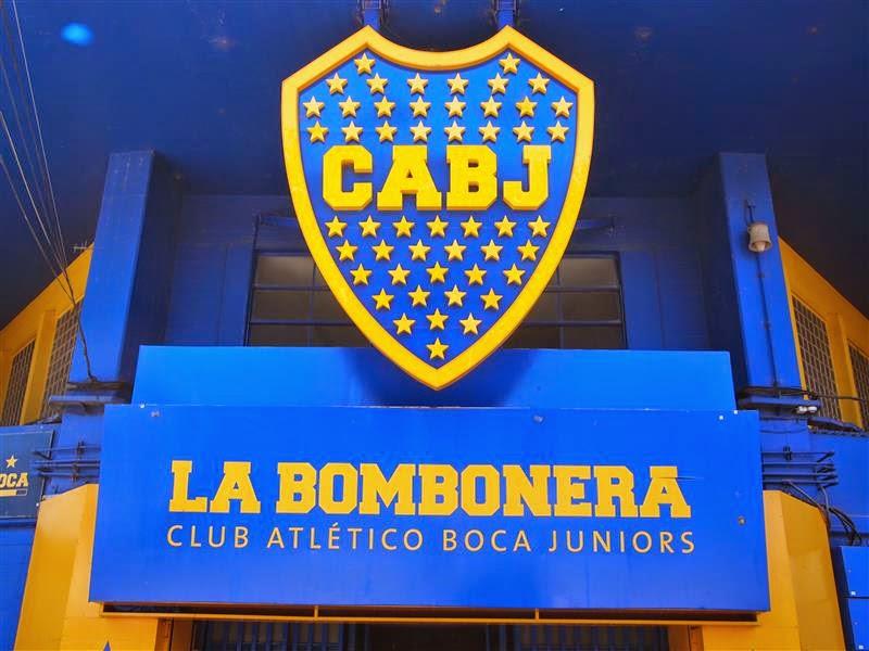 Entrada a La Bombonera