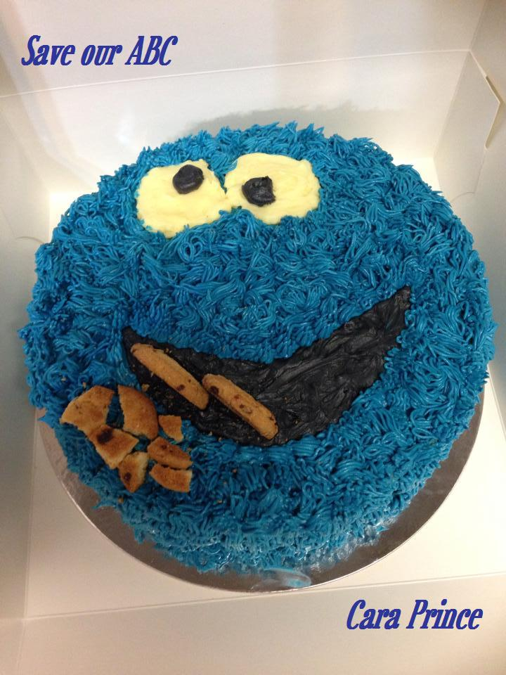Cookie Monster Cake Save Our ABC