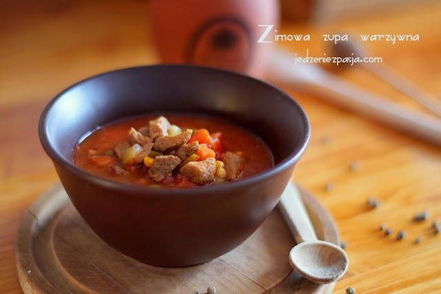 Zimowa zupa warzywna