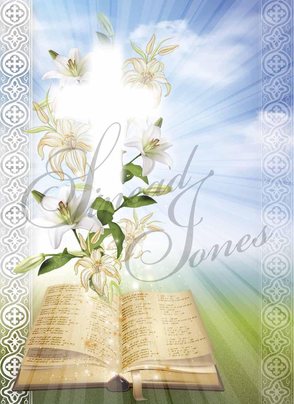 Sinead Jones Greeting Cards Artist Easter Religious Design
