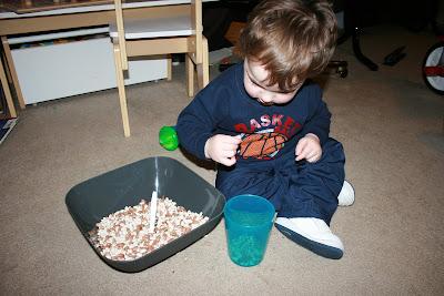 Montessori transferring activities