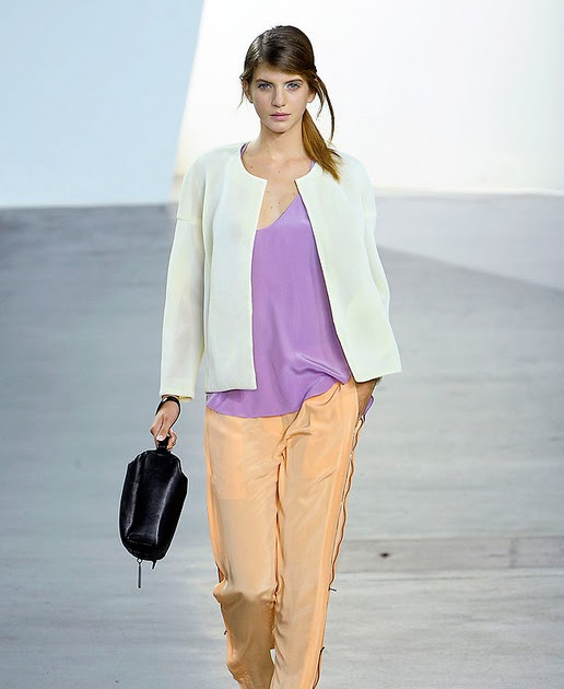 Oh I Heart This So Much Esp How Everything Centres: Elle To The Sea: 3.1 Phillip Lim SS 2012