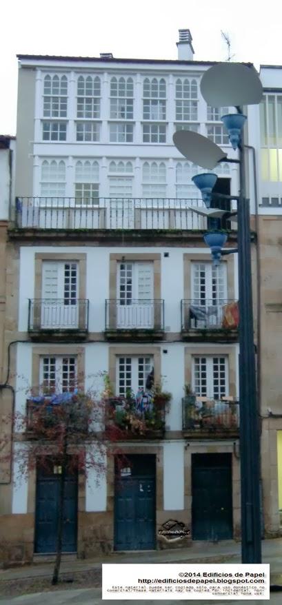 Edifcios de Papel - Edificio en C/ Cervantes, en Ourense, Galicia, Spain