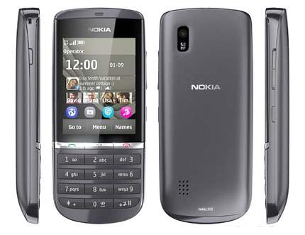 Harga Nokia Asha 300 Dan Spesifikasi