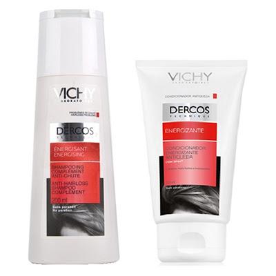 Vichy Dercos Energizante para cabelos mais fortes e saudáveis