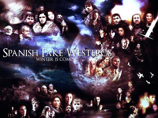 imagen homenaje SpanishFakeWesteros creada por @aly_dark - Juego de Tornos en los siete reinos