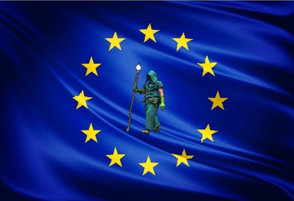 La bandiera per un progetto distribuito lungo i cammini religiosi e storici Europei