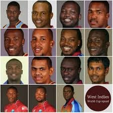 West Indies Team at World cup 2015