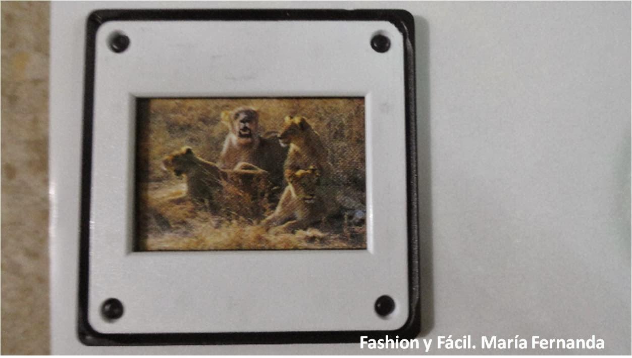 Fashion y Fácil : Eco DIY. Recicla marcos de diapositivas para ...