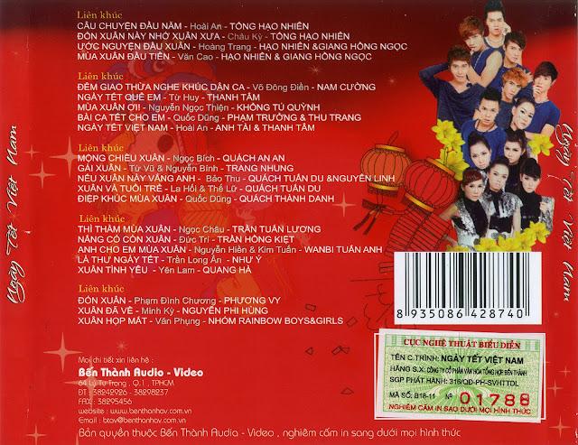 Liên khúc xuân 2012: tổng hợp các ca khúc hay nhất