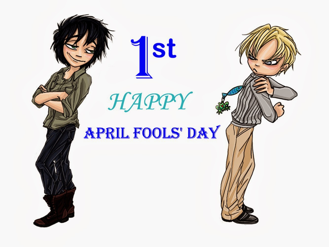 Download Happy 1st April Fool Day Photos SMS Wallpaper