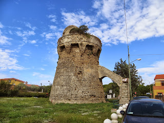 Tower in Agropoli, Italy