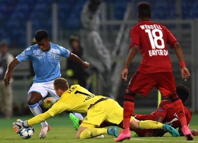 Lazio 1-0 Bayer Leverkusen