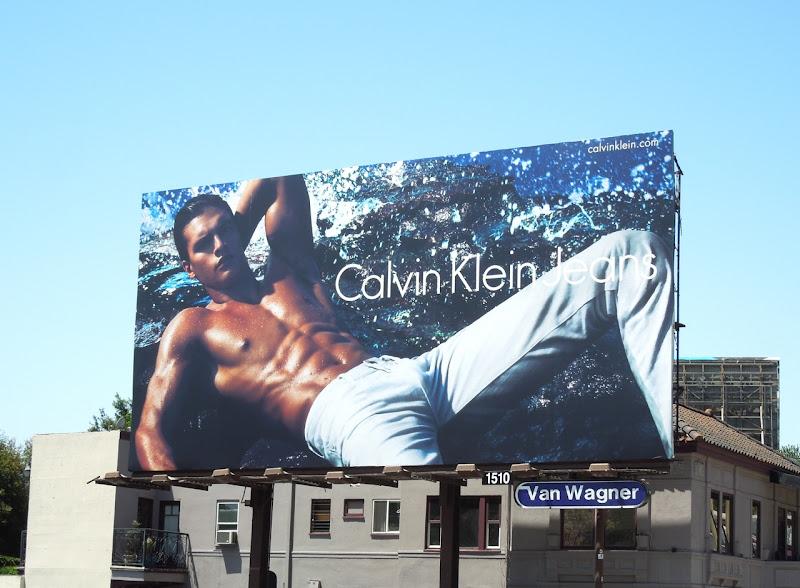 Calvin Klein Jeans Matthew Terry billboard