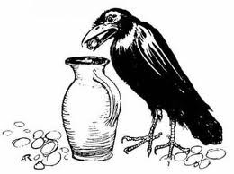 THE THIRSTY CROW-Moral Stories