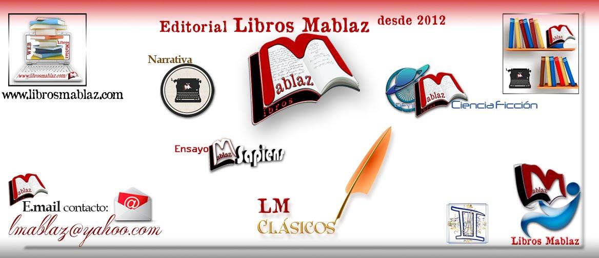 Editorial Libros Mablaz. Todos los géneros.