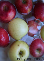 μηλα καθαρισμος απο φυτοφαρμακα