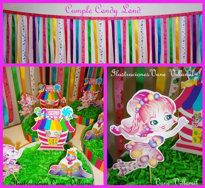 Cumple Candy Land para Felicitas!