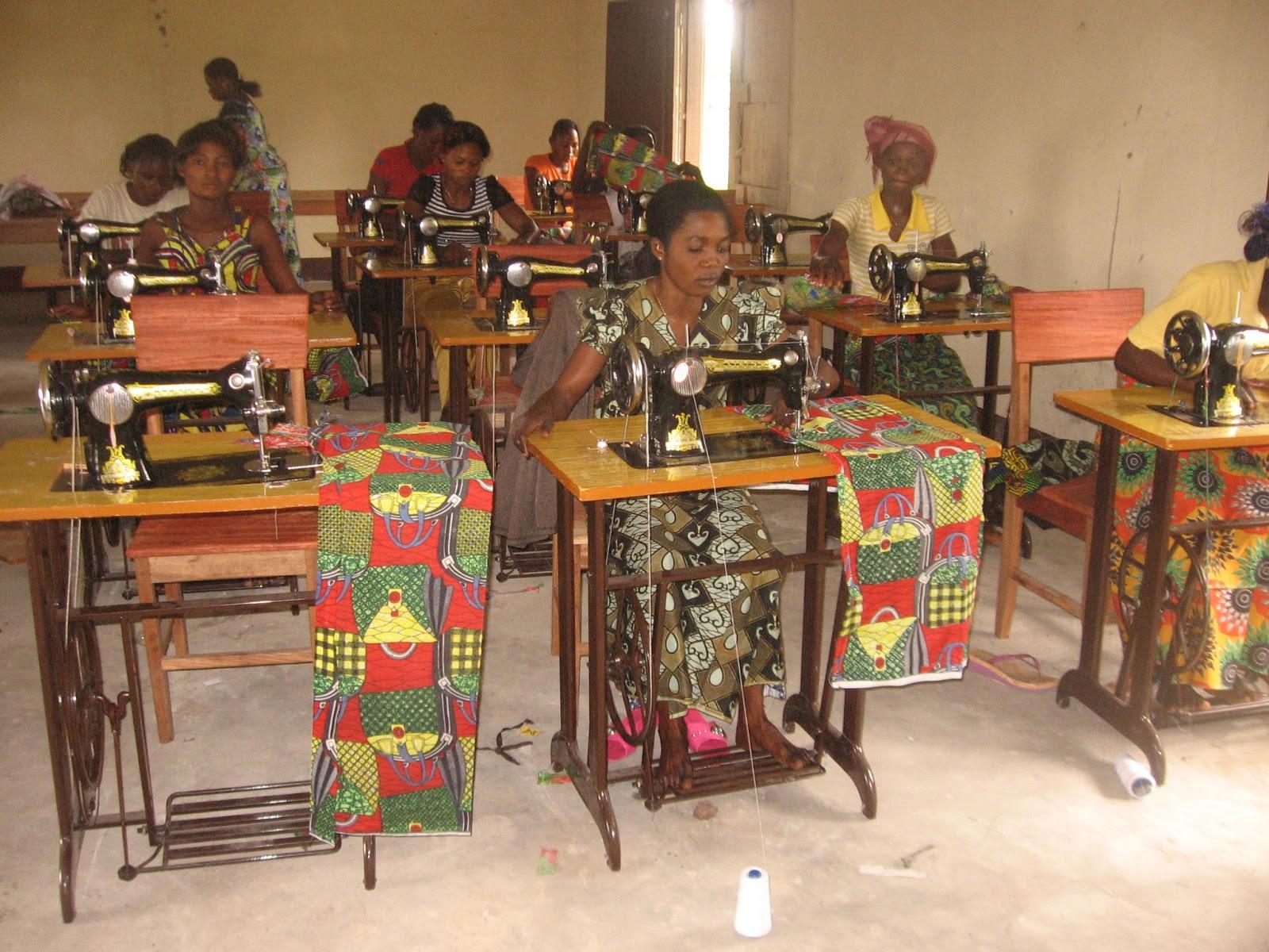 diocese d 39 inongo la maison de couture d 39 inongo projet de ForCouture A La Maison