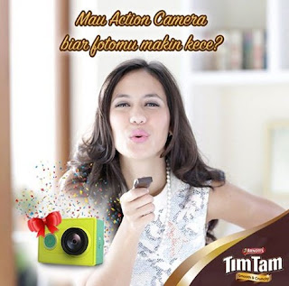 Tim Tam Besties Code Instagram Berhadiah Hampers dan Xiaomi Action Camera