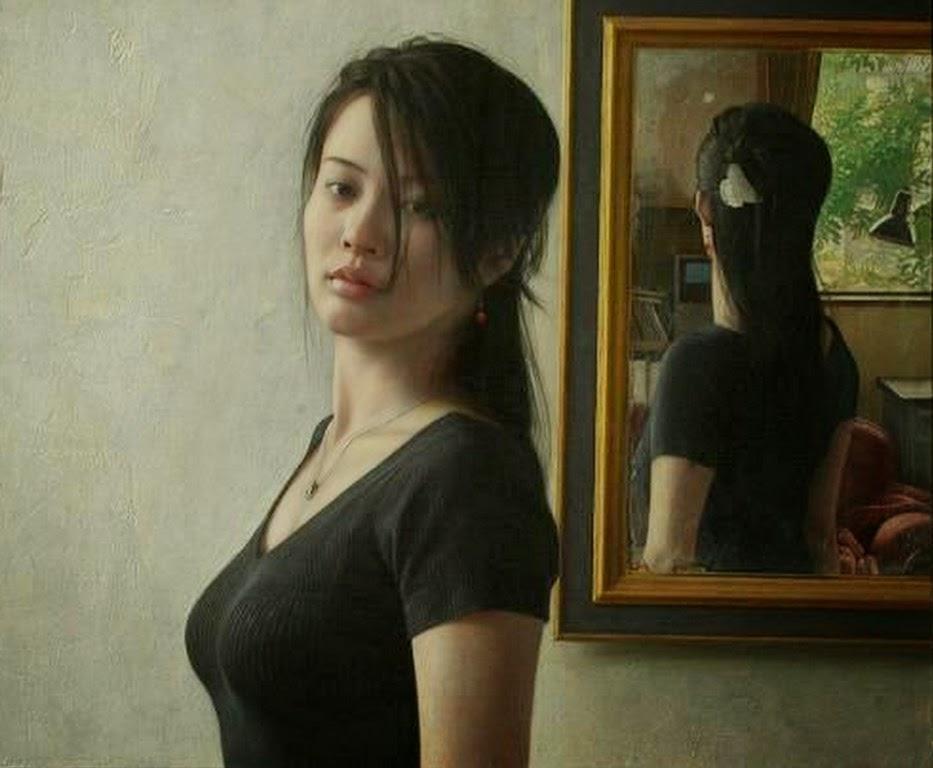 mujeres-bonitas-y-tristes-pintadas-al-oleo