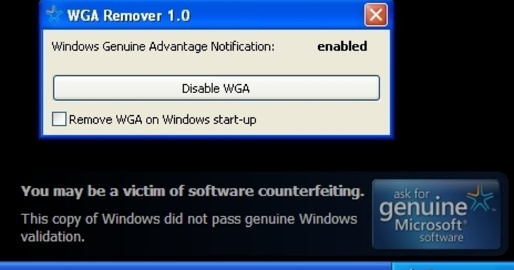 Windows Xp Genuine Remover