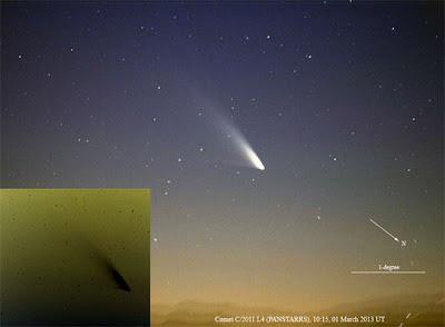 cometa Pan-STARRS (C/2011 L4), 07 de Marzo 2013