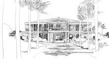 Island House Plan 8