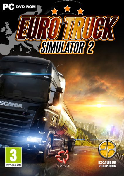 Euro Truck Simulator 2 FiGHTCLUB + Serial FULL 2012 + Torrent PC Full