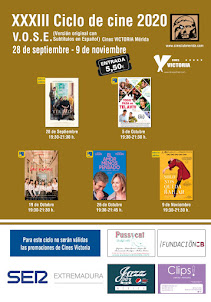 XXXIII CICLO DE CINE VOSE - Cines Victoria Mérida
