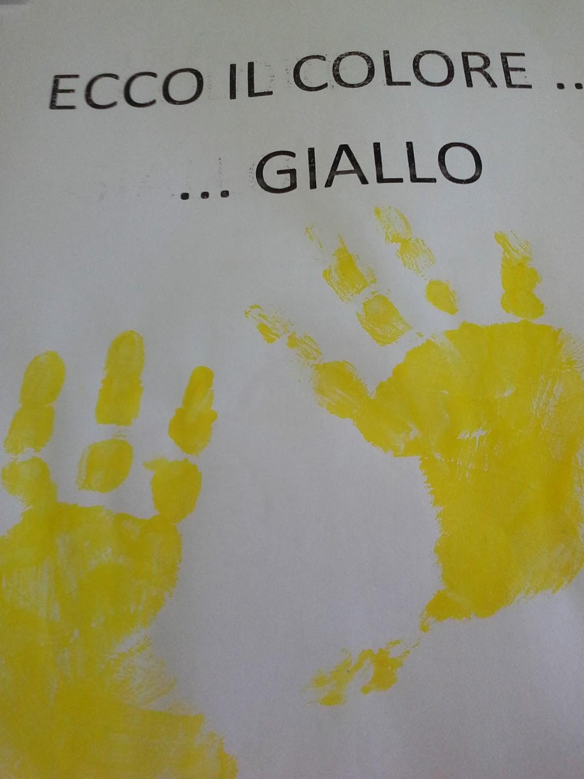 Infanziapenna il colore giallo schede didattiche per for Schede bambini 3 anni