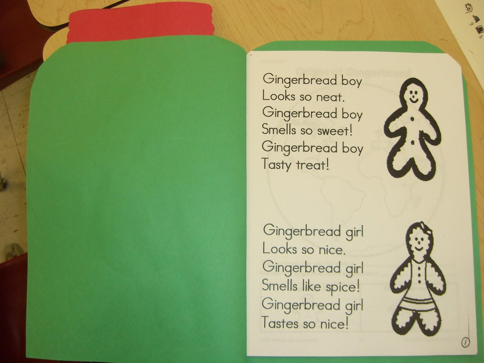 First Grade Garden: Gingerbread Delight!
