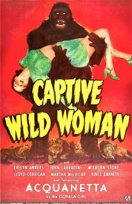 Poster for Captive Wild Woman (1943)