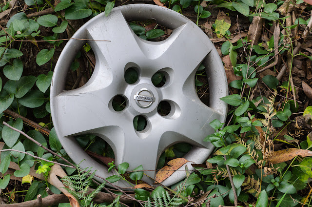 nissan hubcap