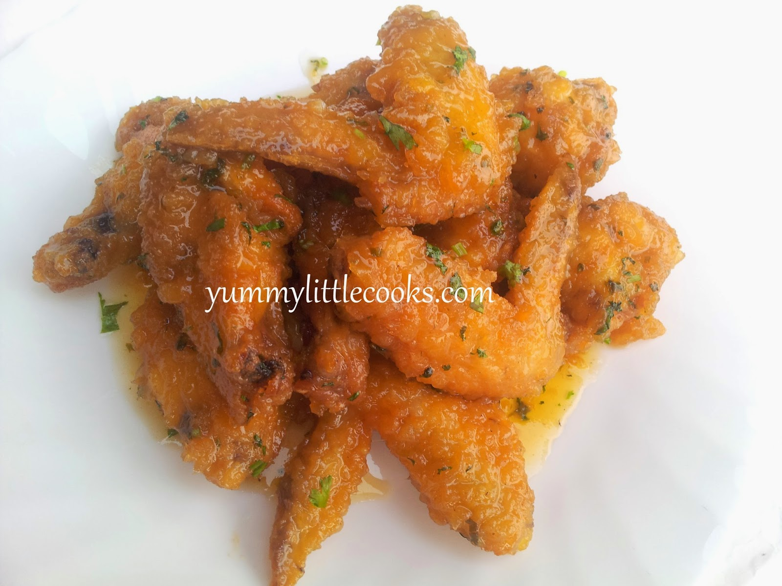 Honey Sprite Chicken Wings