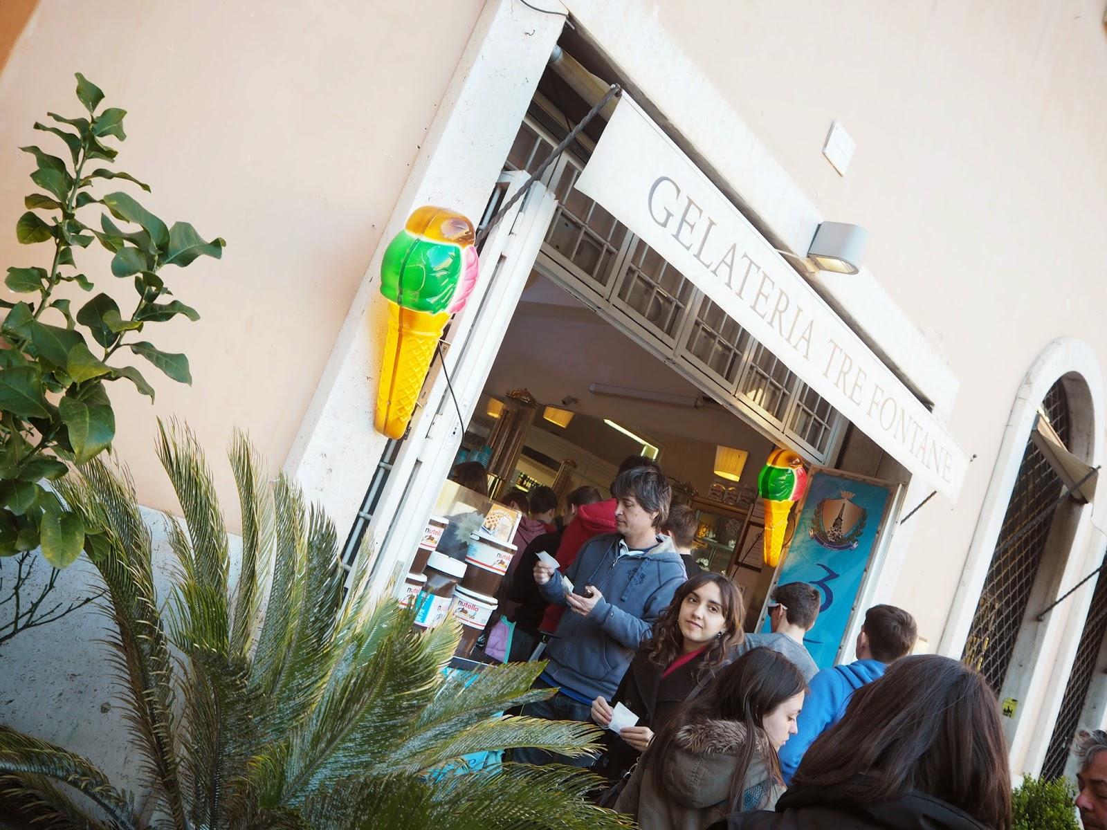 gelateria tre fontane, gelateria, rome, roma, rooma, italia, italy, jäätelö, gelato, ice cream, ice cream bar, menta, minttu, green, jäätelö, vihreä, piazza navona,