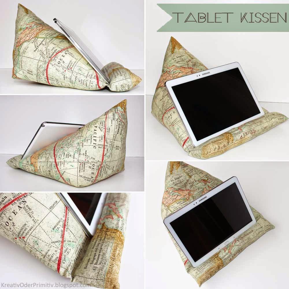 http://kreativoderprimitiv.blogspot.de/2014/12/tablet-kissen-nahanleitung.html