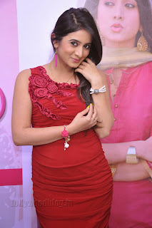 Harshika Pooncha latest Pictures in red 013.jpg